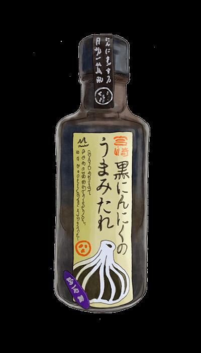 MIYAZAKI BLACK GARLIC UMAMI SAUCE 1100ML